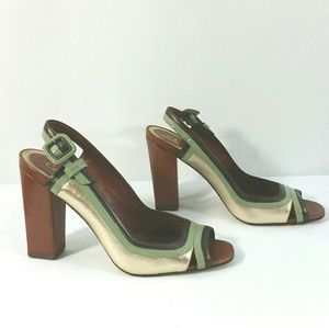 Cole Haan Shoes - Cole Haan Shoes Sandals Block Heel Nike Air Sole